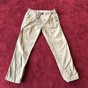 Abercrombie and Fitch Green pants
